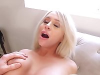 Pornstar takes knob in warm pussy and fools around cause boy pays
