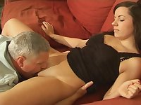 Pussy licking makes Kaitlyn Andrews wet and ready for a cock