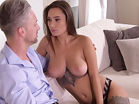 Getting freaky with daddy