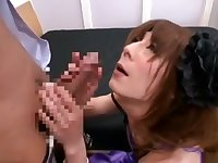 Exotic Japanese girl in Incredible /Futanari, Guy Fucks JAV clip