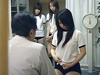 Japanese schoolgirl (21+) medical exam