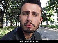 Sexy Brazilian Guy Sucks and Fucked for Money