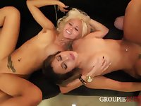 Drunk girls hot sex party
