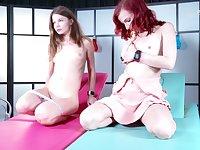 Leila and Nedda Y use their skills to reach their orgasms