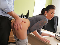 LOAN4K. Fraces likes new loan agent so agrees to hump..