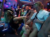 Ukrainian party girl Shrima Malati is fucked by strangers on the dance floor