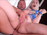 Masked Girl Got Laid In Rear End - ANALDIN
