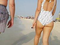 Candid hot bikini pawg!