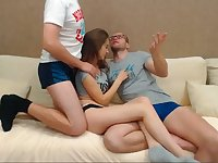 Threesome With My 2 Brothers - Watch Part2 on CUMCAM.COM