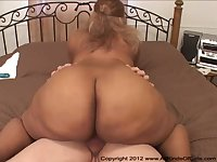 Sasha - Inviting Ebony Thick Rump Chick Screwed - HD video