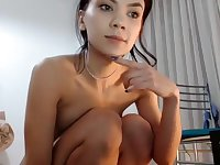 Gorgeous Filipina Webcam Godess Shows Panties Close Up Part 05