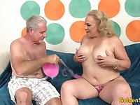 Hot Mature Sex with Chubby Floozy Summer