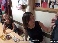 Asian slut Hosaka Yuriko takes part in crazy group sex scene