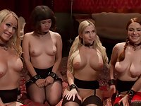BDSM Lingerie Group Action