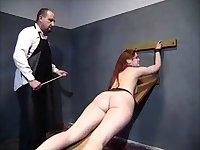 Amateur BDSM spanking slave fuck