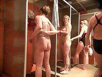 Video peeping in the womens shower10225