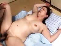 Japanese mature tart with a yummy boobs looks hot