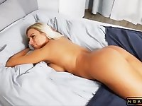 Bodacious blonde milf gets pumped full of hard meat in pov