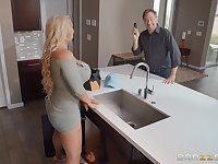 Mature Alura TNT Jenson loves to be fucked all around the house
