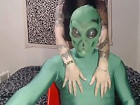 This kinky webcam slut is marvelous and you can tell she loves aliens