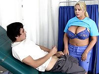 Karen Fisher - Hot School Nurse Cures Blue Balls