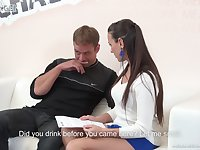 Professional Czech model Mea Melone bangs one kinky guy