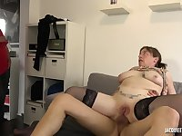 45 yo mommy Lucie hardcore sex video