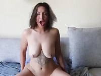 Gorgeous Teen With Natural Tits Deepthroats And Rides Daddies Cock