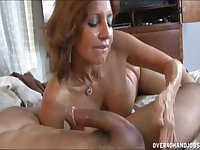 Mature neighbor Tara Holiday loves to pleasure younger guys