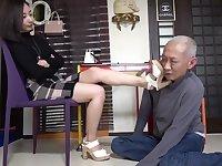 Japan Goddes Femdom