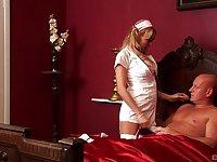Amazing nude porn with the nurse who's a slut