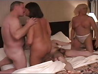 Orgy of mature swingers