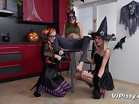 Claudia Macc, Jenifer Jane and Sasha Sparrow