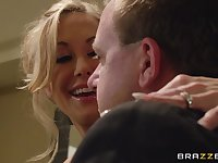 Close up video of handsome pornstar Brandi Love getting fucked by her man